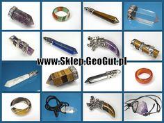 wisiory z kamieni naturalnych, amulety
