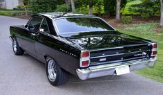 Bid for the chance to own a 1966 Ford Fairlane GT at auction with Bring a Trailer, the home of the best vintage and classic cars online. Bmw Classic Cars, Classic Cars Online, Classic Trucks, Best Muscle Cars, American Muscle Cars, Pontiac Gto, Chevrolet Camaro, Mustang Cars, Ford Mustang
