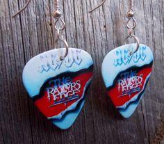 AC/DC Razor's Edge Guitar Pick Earrings by ItsYourPick on Etsy