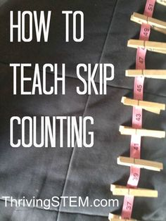 Skip counting by 2's. This is a fun way to learn multiplication skills. Post recommends books that teach math as well.