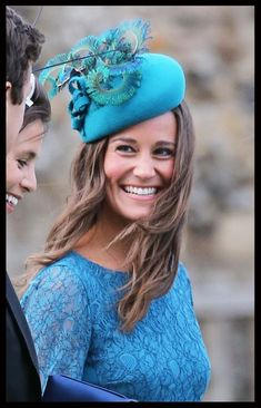 Pippa Middleton attending the wedding of James Meade and Lady Laura Marsham in Gayton. 9-14-13