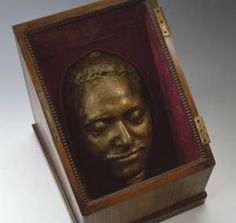 Peter the Great's death mask.