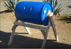 DIY Compost Tumbler | DIY Compost Bins To Make For Your Homestead
