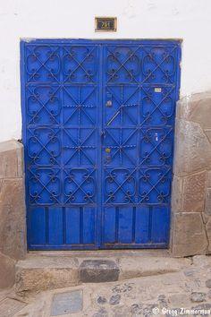 Cusco Door by Gregg Zimmerman, via Flickr