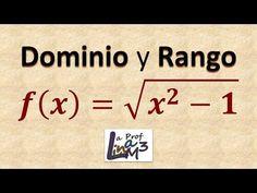 Dominio y rango de una función radical | Ejercicio 2 | La Prof Lina ...