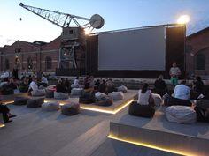 Cinema Flutuante | Ole Scheeren's | bim.bon