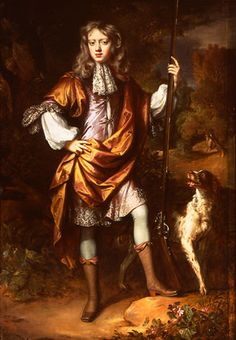 John, later 6th Earl of Exeter, when a boy, (1674-1721) by William Wissing…