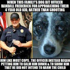 Hero to all - Love this officer