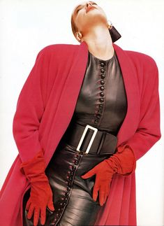 The sensual power of leather - for those of us who wear it and those who lust to touch it.