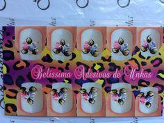 Adesivos para Unhas - Belíssima: Botão de rosas
