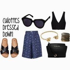 People shy away from the amazing culotte trend because of not knowing how to style them casually. I'll show you how to incorporate this look into your everyday style now at www.FashionMeKnot.blogspot.com