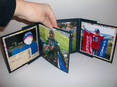 pinterest 365 day 339: mini scrapbook album, so cool, holds heaps of photos and keeps on unfolding but is easy to make with the you tube clip from loretta under you tube name tkdgalsamm :)
