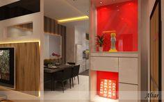 Cai Yi Construction (M) Sdn Bhd - Altar Design Skudai JB Design, Cai Yi Construction (M) Sdn Bhd is an interior design company. Our main office is located in Skudai, Johor Bahru (JB). Interior Design Companies, Home Interior Design, Interior Designing, Wooden Gate Designs, 3d Design, House Design, Altar Design, Pooja Room Design, Dream House Interior