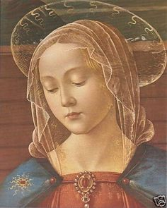 Catholic Print Blessed Virgin Mary