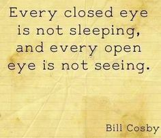 Bill Cosby eyes quote