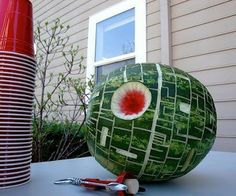 Death Star Watermelon!