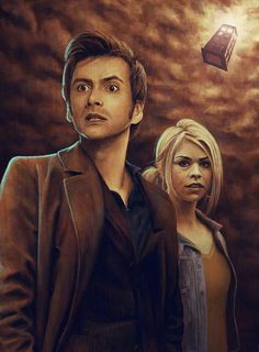DOCTOR 10 AND ROSE TYLER