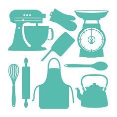 Kitchen Utensils Svg Svg S For Make The Cut Pinterest