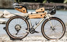 When you travel by bike, the chances are that you'll want to do a bit of walking too. Why not try out convertible backpack panniers for day walks? Touring Bicycles, Touring Bike, Daisy Chain, Bikepacking Bags, Frame Bag, Convertible Backpack, Bicycle Design, Road Bikes, Vintage Bicycles