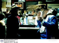 Bob Dylan and John Goodman Masked and Anonymous Supplied by WENN July 2003 (WENN…