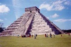The pyramids Mexico 2003