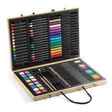 'Nagy kreatív készlet - Big box of colours (Djeco) Educational Toys For Kids, Kids Toys, Games For Kids, Art For Kids, Arty Toys, Pastel Gras, Discount Toys, Wax Crayons, Pencil Sharpener