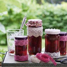 Französische Erdbeerkonfitüre mit ganzen Früchten Rezept   Küchengötter