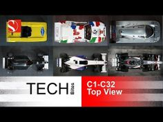Evolution of Race Cars 1/3 - TOP View - Sauber F1 Team