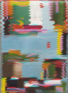 Edoardo de Falchi - scan glitch Glitch Art, Vaporwave, Photo Art, Typography, Kids Rugs, Graphic Design, Sculpture, Feelings, Artist