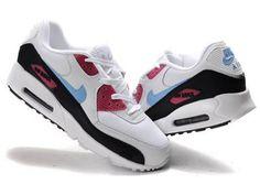 Kaufen Niedrigen Preis Nike Air Max 90 Rosa Schwarz Grau Schuhe aus China