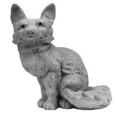 Literally, a stone fox!