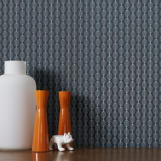 Perle Teal Wallpaper by Graham and Brown Hallway Wallpaper, Wallpaper For Sale, Plain Wallpaper, Damask Wallpaper, Retro Wallpaper, Home Wallpaper, Wallpaper Designs, Contemporary Wallpaper, Traditional Wallpaper