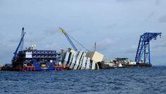 Berging Costa Concordia loopt meteen vertraging op