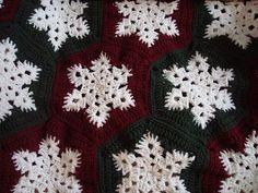 Ravelry: Snowflake Afghan pattern by Lois Olson