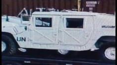 Heads Up! More UN Military Police Equipment Seen Going Through Huntsville, Alabama https://youtu.be/QYruv6-hh5E