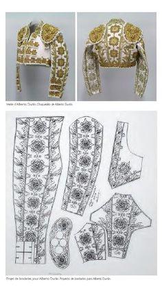 Traje de Luces/ Costume de Lumières/Suits of Lights - Alberto Duràn - Design by Romain Mittica for Fermin