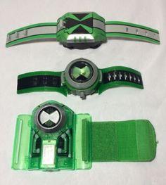 Ben 10 Omnitrix Wrist Watch Lot of 3  Bandai for USD19.99 #Toys #Hobbies #TV…