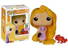 Rapunzel and Pascal (Red) - Frying Pan SDCC Exclusive