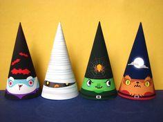 Hallowe'en gnomes! @Amanda Saha-Thought you would like these!