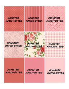 Monster Match-ettes