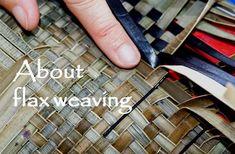 Allflax by Wendy Naepflin - New Zealand flax weaving Flax Weaving, Basket Weaving, New Zealand Flax, Maori Patterns, Complex Art, Flax Flowers, Small Mats, Flax Fiber, Flax Plant