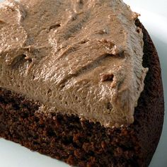 Simple, Low Carb Chocolate Cake and Frosting