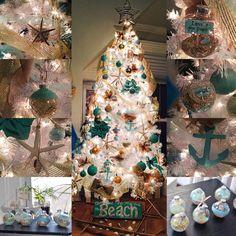 2015 Beach Theme Christmas Tree