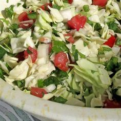 "Cabbage Pico de Gallo | ""This was outstanding."""