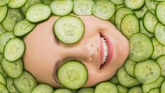 Best Homemade Cucumber Face Masks: In this article you will find best homemade cucumber mask recipes for dry skin, oily skin, acne prone skin, aging skin and a cucumber face mask peel. Cucumber For Skin, Cucumber Face Mask, Oily Skin Care, Acne Prone Skin, Dry Skin, Healthy Women, Healthy Skin, Sunken Eyes, Face Mask For Blackheads