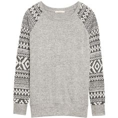 Love this Stitch Fix top - Le Lis Shaney Raglan Printed Sleeve Knit Top- looks like a sweatshirt but it's not and it's super soft! Style Wish, Style Me, Stitch Fix Fall, Stitch Fix Outfits, Stitch Fix Stylist, Dress To Impress, What To Wear, Cute Outfits, Style Inspiration
