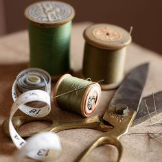 Vintage sewing imagery fromLove from Rosie Blog: The Great British Sewing Bee