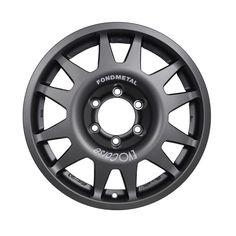 DakarZero is the low offset version of the DakarCorse: a wheel dedicated to off-road, cross-country rally and rally raid. | EVO Corse Racing Wheels #evocorsewheels #dakar #dakarzero #matanthracitecolor #foroffroad #matcolor #thebestwheelforoffroad #followus