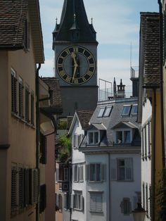 Switzerland -- love the clock towers and ringing bells in the towns and villages.