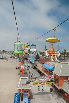 Santa Cruz Beach Boardwalk, California  [Spent the afternoon here with some friends]